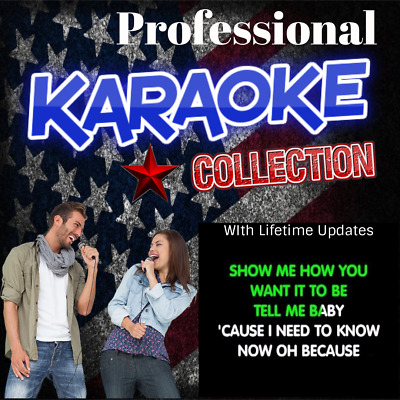 Professional Karaoke Collection Song Hard Drive Licensed - Free Monthly Updates