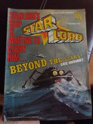 starlord comic last ever issue dated 7th October 1978 rare