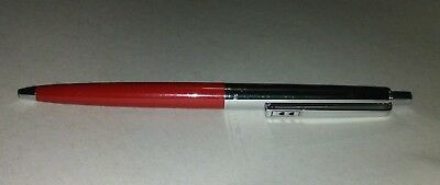 Vintage Papermate Double Hearts Red Ballpoint Pen