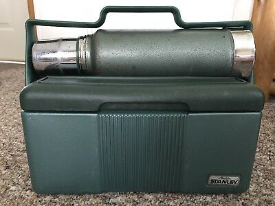 Vintage Aladdin Stanley Thermos And Lunch Box Cooler Combo