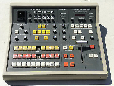 Grass Valley Group Video Production Switch Control Panel 100-N 087611-00