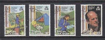 Tristan da Cunha 1981 Duke of Edinburgh Awards Set Used