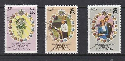 Tristan da Cunha 1981 Royal Wedding Set Used