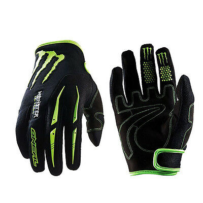 Mens Full Finger Cycling Gloves Velcro Bike Motocross MTB DH Cycle Motorcycle XL