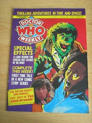 Doctor Who Weekly Magazine Issue No. 30 Dated 7 May 1980