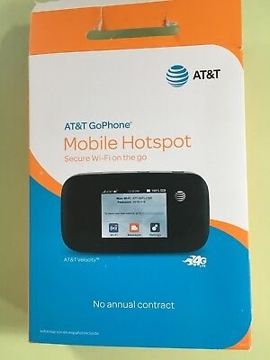 "AT&T GoPhone ""Velocity"" 4G Mobile Hotspot - New in box - No contract - with SIM"