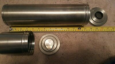 Vintage  Nikor Stainless Steel Film Developing Tank 1 4 inch1 13 inch
