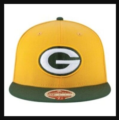 2a9a237338fc0 VINTAGE NFL GREEN Bay Packers New Era Wool Cap Hat Fitted 6 7 8 Made ...