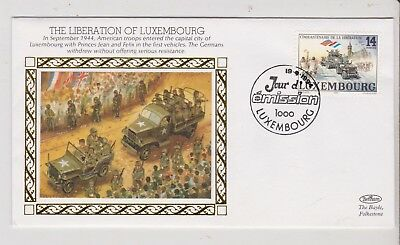 Army FDC - Luxembourg - The Liberation of Luxembourg  - Benham - 1994 (1931) (X)