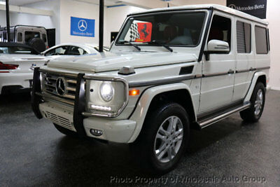 Mercedes-Benz G-Class 4MATIC 4dr G 550 BEST COLOR . LOADED. FACTORY WARRANTY. CARFAX CERTIFIED. CALL 954-744-1177