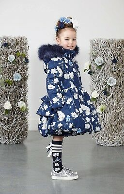 Ariana Dee Jenner Printed Bird Coat In 2 Colours