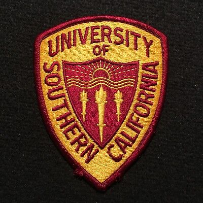 USC - University Of Southern California Police Patch