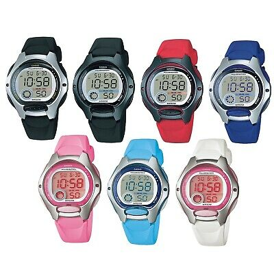 Casio LW-200 Series Silver Black Red Blue Pink Women's 50m Digital Sports Watch