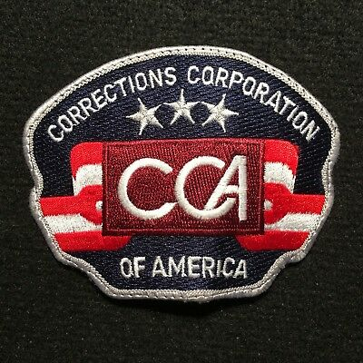 CCA Corrections Corporation Of America Patch / Jail Private Prison Guard Officer