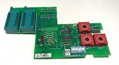 MBE-4 PCB FOR TEGAL 9XXe CONTROLLERS PN:  99-207-004