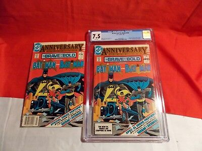 Brave And The Bold # 200 Cgc 7.5 1St App Batman & Outsiders Halo Katana Geoforce