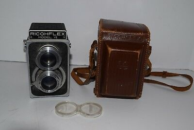 Ricoh Ricohflex Model VII 6x6 Medium Format TLR Camera w/80mm 1:3.5 Lens