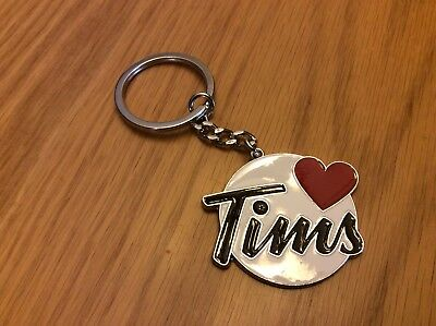 Tim Horton's I Love Tims Key Chain, Fob, 2016