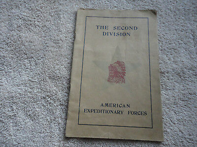 The Second Division AEF, WWI Unit History Booklet
