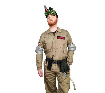 Ghostbusters Premium Costume Pack - Coveralls and Accessories - Belt Gloves Hose