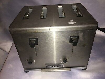 Toastswell 4 Slice Commercial Toaster BTM-4CB