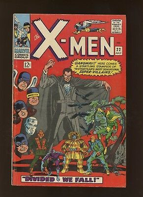 X-Men 22 FN/VF 7.0 * 1 Book Lot * Divided We Fall by Roy Thomas & Jay Gavin!