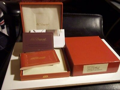 Doupont Cigarette Lighter Box With All The Papers Include