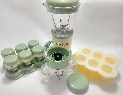 Magic Baby Blender System Homemade Baby Good Food Processer With Accessories