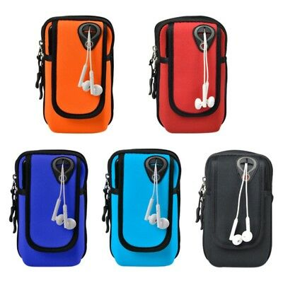 US Sport Armband Running Jogging Arm Band Pouch Holder Cell Phone Bag Case Gift