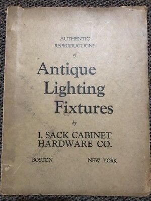 Authentic Reproductions of Antique Lighting Fixtures I Sack Cabinet Hardware VLT