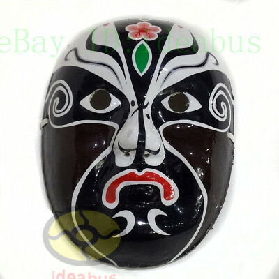 Masquerade Paper Pulp Hand Painted Peking Beijing Opera Mask name -Promotion God