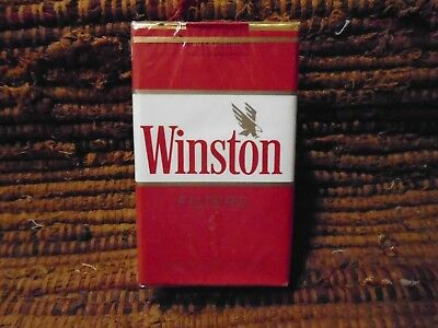 Vintage Winston Filters Cigarette Pack  Smooth Rich Taste  Excellent Condition!