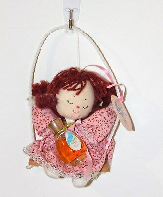 Vintage Giftique Swinging Dolly Pretty Up Cologne and Stuffed Doll