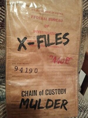 X-files Insulated Lunch Bag *Sci-Fi Block Exclusive*