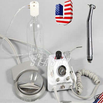Dental Portable Turbine Unit Work W/ Compressor + High Speed Handpiece 4H USA-Y