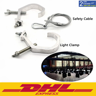 Alu Stage Lighting Hook Clamp Moving Head Light Mounting +Cable fit 7R / 5R