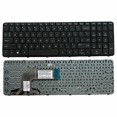 For HP 15-g126ds 15-f199nr 15-g075nr 15-g077nr NEW Laptop US Keyboard with Frame