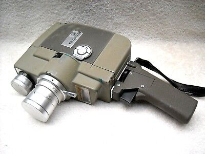 **1960`s HANIMEX 8EE ZOOM 8 mm MOVIE CAMERA/CASE IN VERY GOOD CONDITION**