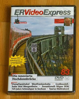 ER Video Express Nr.83 mit Bonus-Film Video Express Nr.13 OVP !!!