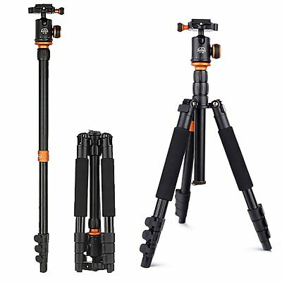 Pro Aluminum Alloy Tripod Monopod Ball Head for Travel Digital SLR Camera SL258