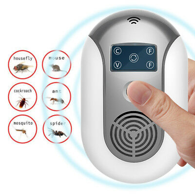 Ultrasonic Electromagnetic Pest Repeller Electronic Pest Control Bug Repellent