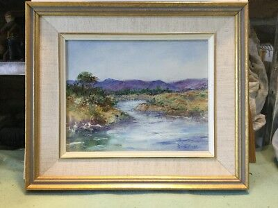 Merle Gould Bega Nsw Framed Oil Painting