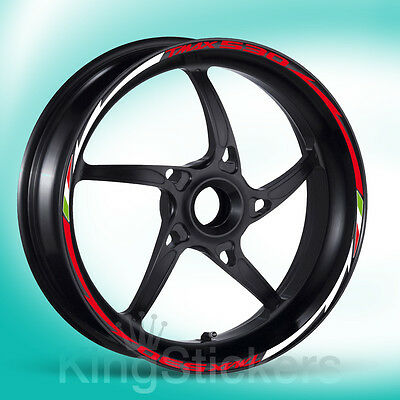 SET adesivi cerchi ruote YAMAHA TMAX 530 stickers wheels - NEW MODEL EXCLUSIVE -