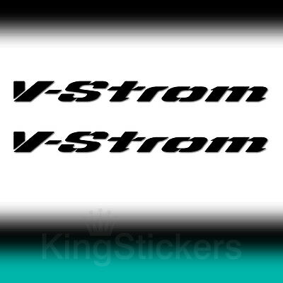 2 ADESIVI V-STROM new PVC tuning moto SUZUKI decals - stickers vinyl