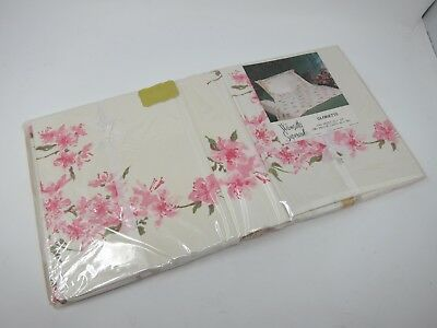 Vtg Wamsutta Supercale Gloriette 1 Sheet & 2 Pillow Cases Set NIP
