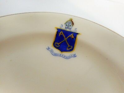 Royal Doulton Collegiate School Of St Peters Adelaide Crested Dish
