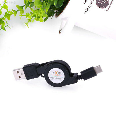 Portable USB2.0 TYPE-C Interface Retractable Telescopic Data Cable Charging Line