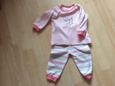 Baby girls pyjamas to fit age 6-9 months disney