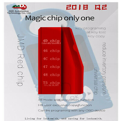 Original Multifunction CBAY Super Red Chip Replace JMD 46/4C/4D/G/KING/48 Chip