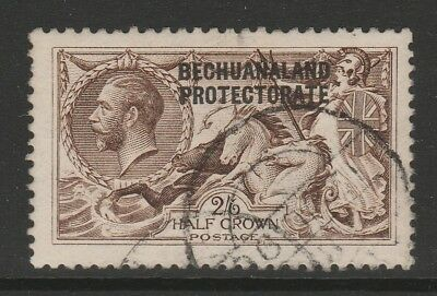 BECHUANALAND 1913-24 2/6d SEPIA SG 86 FINE USED.